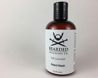 Beard Wash 4 oz & 8 oz