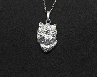 Westie jewelry pendant Sterling Silver-Personalized Pet Necklace-Dog lover gift-Pet Memorial