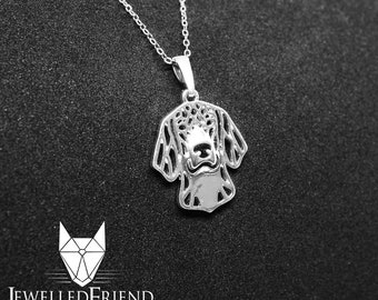Beagle dog jewelry pendant -Sterling Silver-Personalized Pet Necklace-Dog lover gift-Custom Dog Necklace-Pet Memorial Gift-Dog Mom Gift–Pet