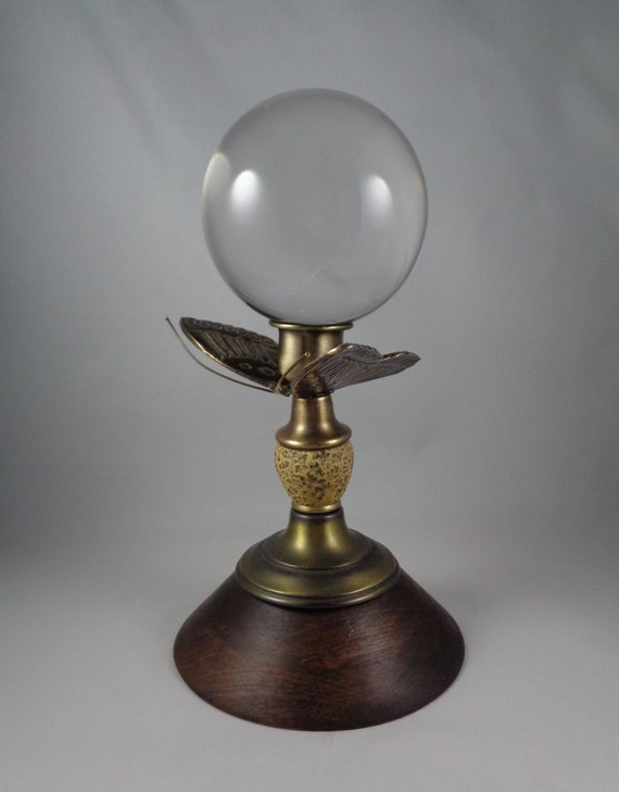 La Mariposa Crystal Ball Stand Displayed With 100mm Ball