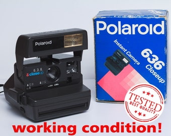 a12cba14c26cf Polaroid Close Up 636 Polaroid Camera Vintage Retro Camera in original box  Birthday gift for photographer Gift for him