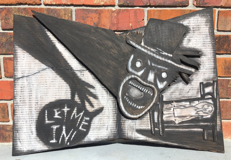 Das Babadook Buch-Wand-Dekor / Pop-up-Replik | Etsy