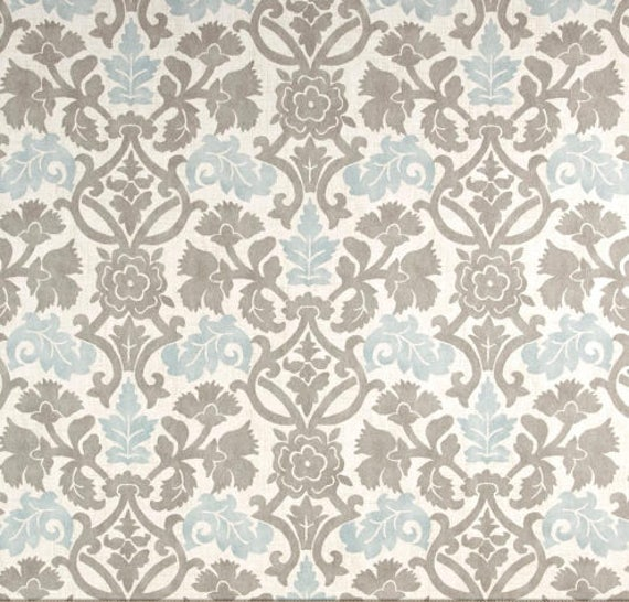 Faux Roman Shade Grey Teal Ivory Tan Window Treatment Bedroom Kitchen  Dining Office Romantic Craft
