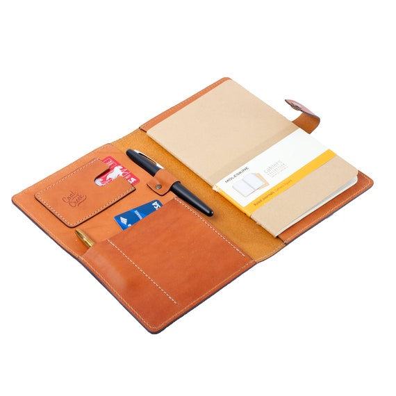 Leather Journal Cover for Moleskine Large Soft Cover//Wickett /& Craig Full Grain Leather//Handmade in USA//Fits 8.25x5 Notebooks