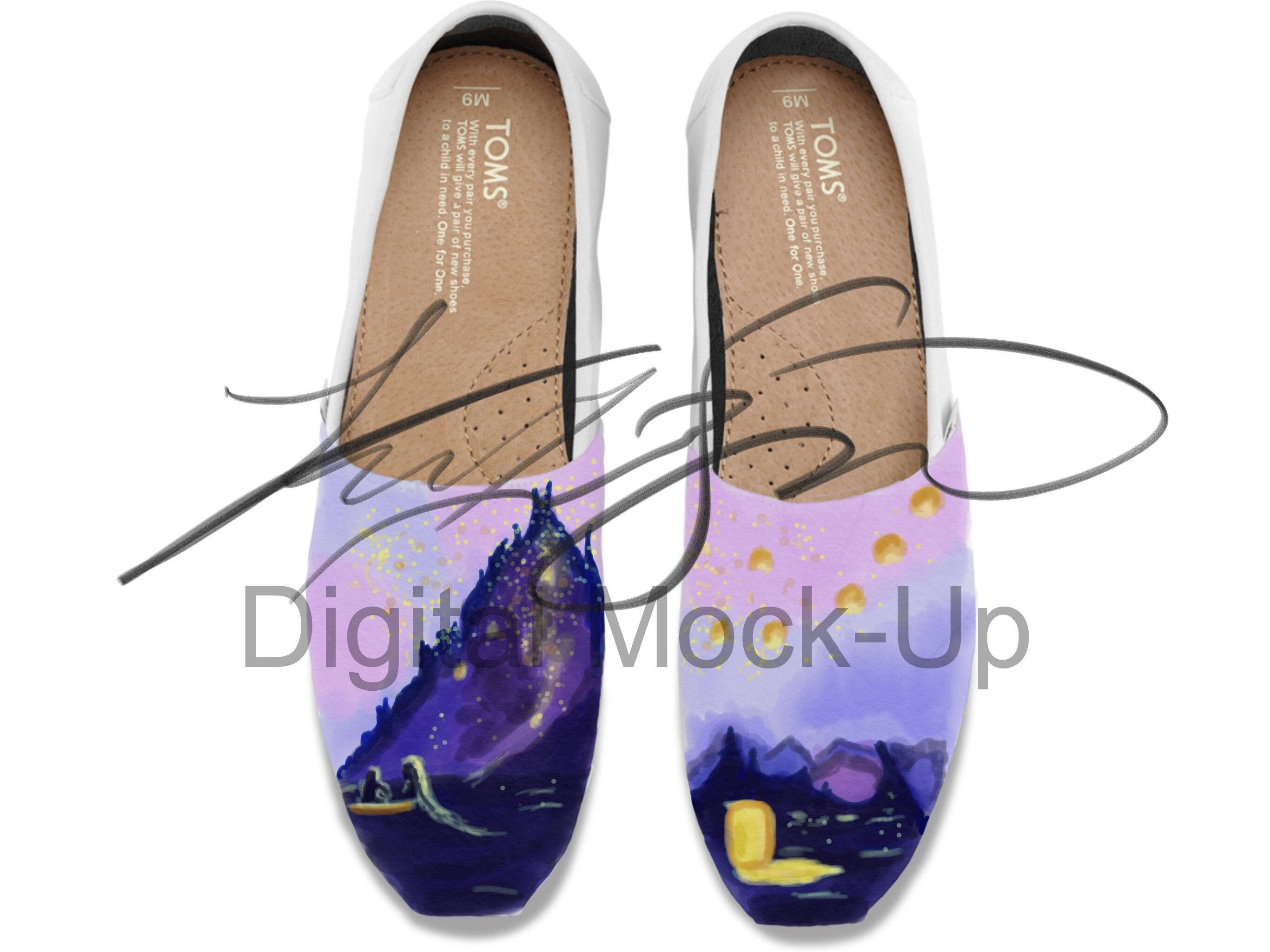 2c4880da83a26 Tangled Custom Personalized Shoes (First Time Design Discount)