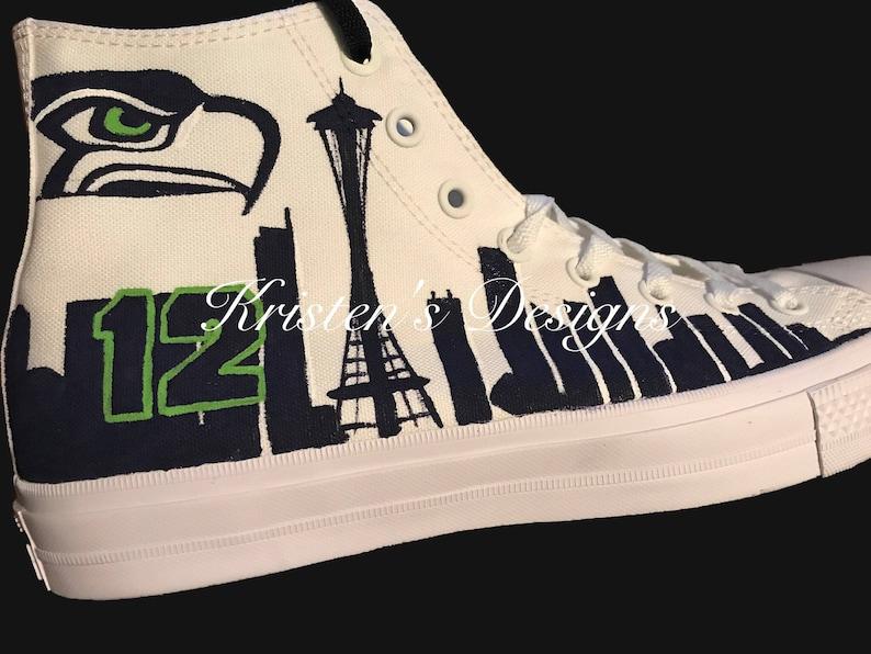 2ddcccfca7e3 Seattle Seahawks Shoes