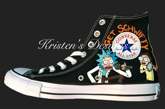 44aa5b3135b30 Adult Comedy Custom Shoes - American Dad - Brickleberry - Family Guy - Rick  and Morty - Southpark - Custom Shoes