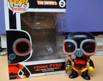Femme Pyro TF2 Custom Funko Pop