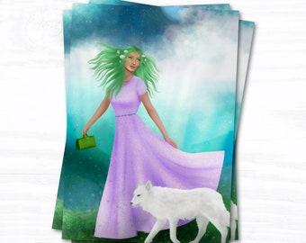 Tarot Majors   Art Prints   The Vagabond Wild 3rd Edition   Altar Cards