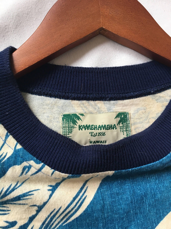 Vintage t-shirt Kamehameha hawaii/Free shipping   Etsy