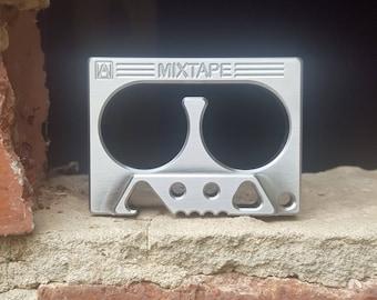 Stainless Steel MixTape Volume 2 Bottle Opener