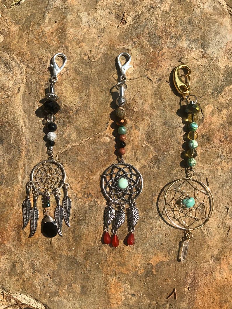 Dream catchersdream catcher key chain 3 designs of dream catcherschase off bad spiritsanyone gift
