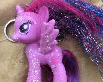 Twilight sparkle toy keychain