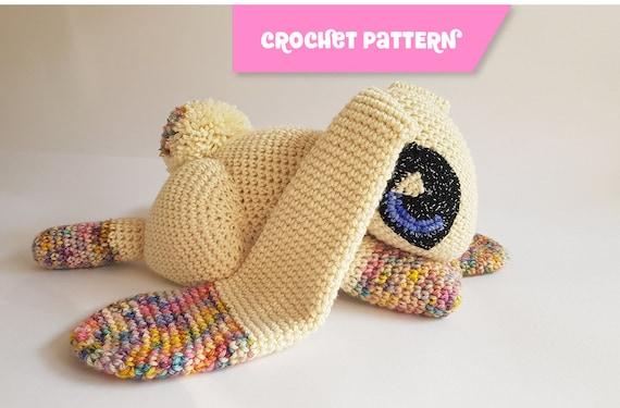 Jupiter The Rabbit Amigurumi Bunny Easy Crochet Pattern Etsy