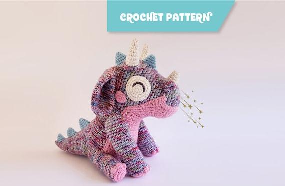Orbit The Dragon Amigurumi Dragon Easy To Follow Crochet Etsy