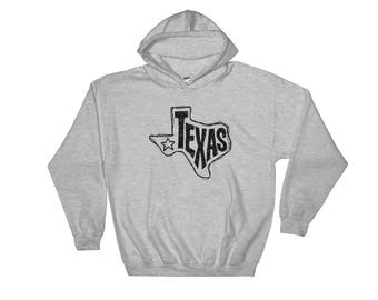 Texas, State of Texas Hooded Sweatshirt