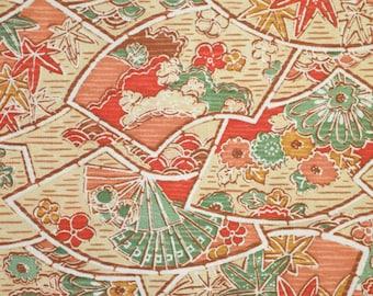 """Cheerful Happy kimono silk 64"""" x 14"""""""