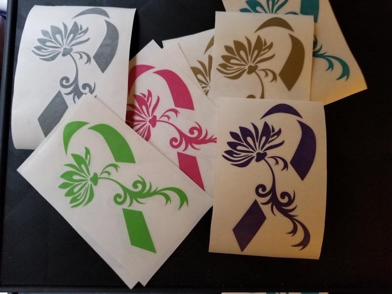 Lotus Flower Awareness Ribbon Fundraiser Pack Of 20 Custom Etsy