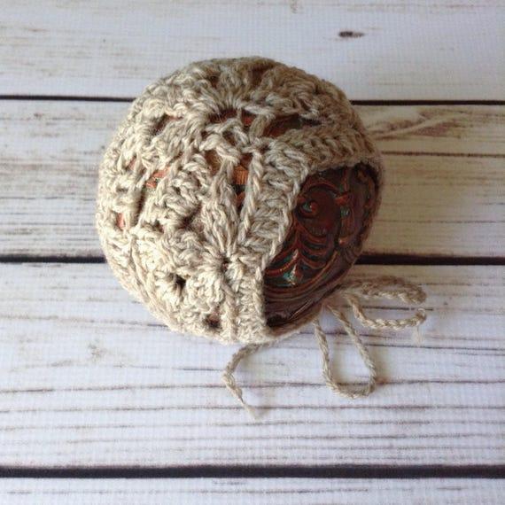 Crochet Bonnet Pattern Newborn Bonnet Pattern Crochet  53a1161b093