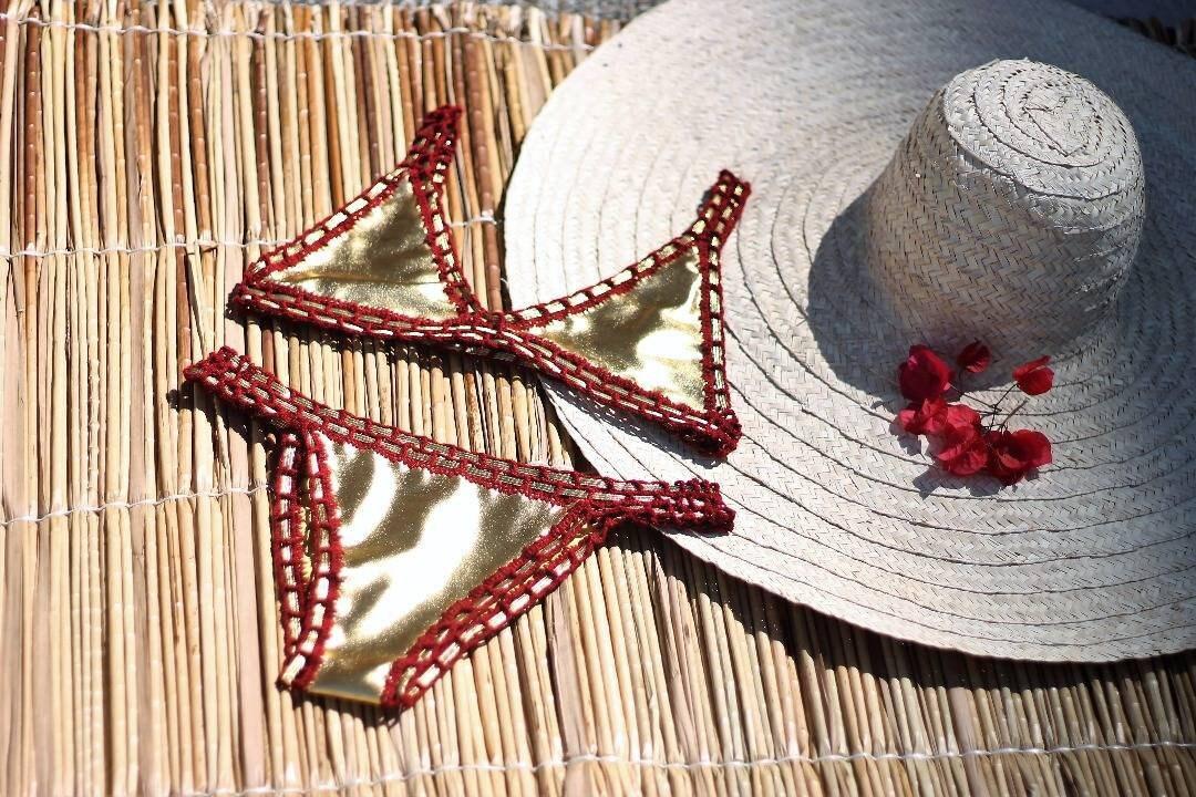 50113941d1 Uncinetto bikini uncinetto costume da bagno uncinetto | Etsy