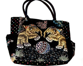 Big Size Thailand cotton tote bag