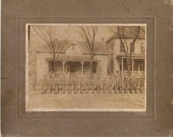Vintage Antique Photograph US Military Cadets ~ Civil War Era ??