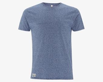 Blue Marl Organic T-shirt