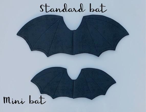 Adult size Black Dragon Wings Costume Accessory Gargoyle Bat Cosplay fnt