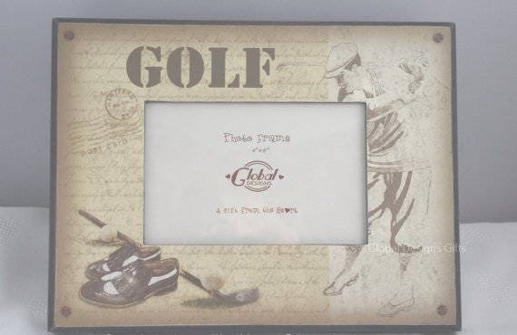 Golf Golfers Photo Frame Hole In One Picture Frame Golfing | Etsy