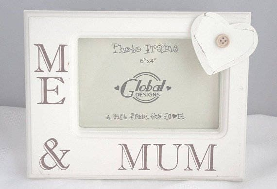 Mum Shabby Chic Photo Frame Picture Frame Me and Mum ideal Mothers Day  F0580A