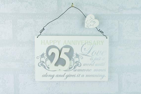 Personalised Wall Plaque
