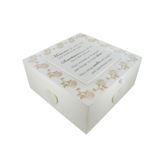 Handmade Memory Box Memories Keepsake Box Keepsakes Bereavement Wedding