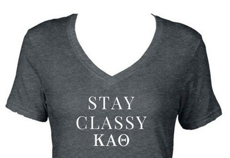 Kappa Alpha Theta T Shirts Select From 8 Different T Shirt Etsy