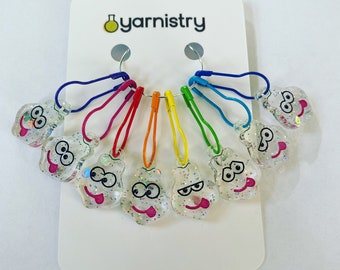 Caterpillar Stitch Markers - Charity
