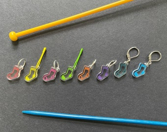 Sock stitch markers