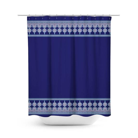 Moorish Garden Shower Curtain Moroccan Style Bathroom Decor