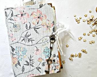 Spring Time Handmade Junk Journal * Curved Spine * Creative Journal