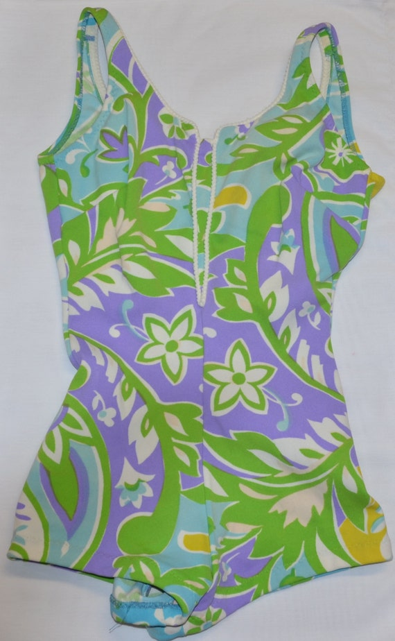 1960s ceeb swimsuit | one piece swimsuit | 1960s s