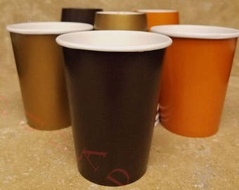 Thanksgiving Paper Party Cups. Ships In 2-3 Business Days. 12 Ct. Fall Birthday Party Cups