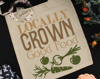 Farmers market Bag//reusable bag//cotton bag//women's shoulder bag//food bag//