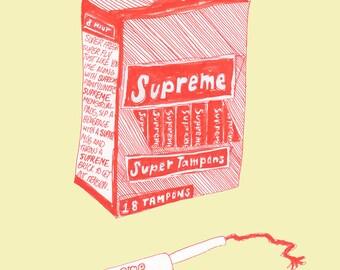 Supreme Super Tampons