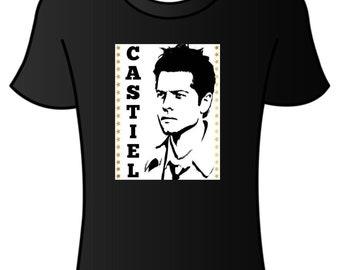 supernatural castiel T-shirt.