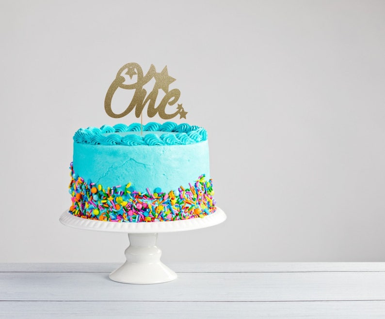 First Birthday Cake Topper