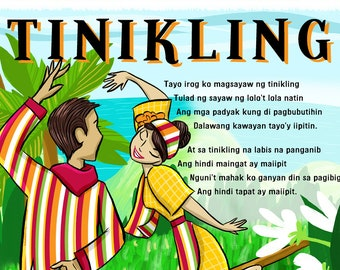 Bahay Kubo Children's Art Filipino Art Instant | Etsy
