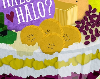 Halo Halo Food Art