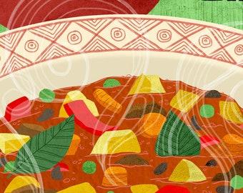 Tanghalian Food Art