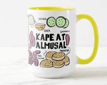 Kape At Almusal 15oz Mug