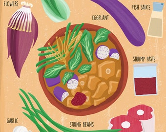 Filipino Food Art