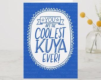 BIRTHDAY   Coolest Kuya Greeting Card
