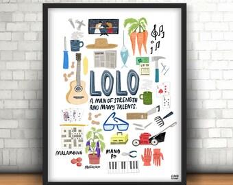 Lolo Print